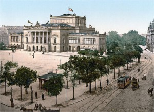 Leipzig around 1900