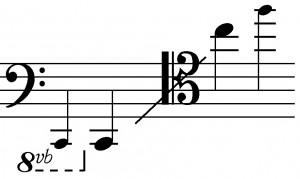 Tenor Trombone Range
