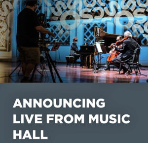 Live from Music Hall Cincinnati Symphony